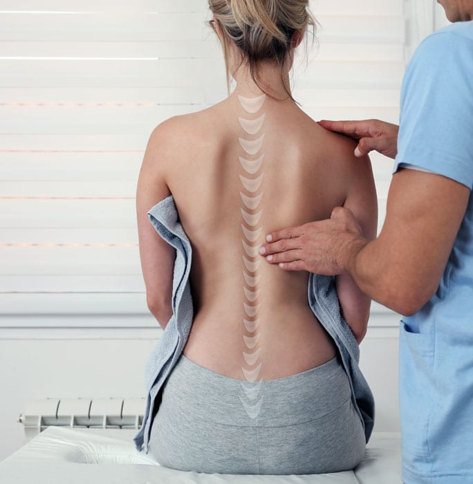 back pain exam